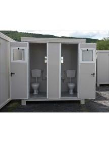 Bungalow sanitaire de chantier|AgrivitiDistribution