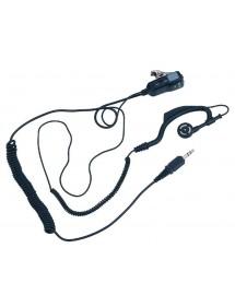 Microphone oreillette pour talkie-walkie G9 PRO noir midland|AgrivitiDistribution