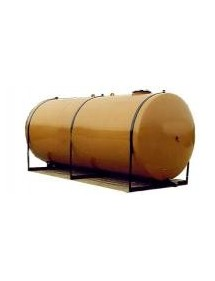 CITERNE DE STOCKAGE GASOIL EN ACIER DOUBLE PAROI ENTERREE NORME NF EN 12285-1