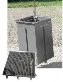 Bac débourbeur acier cadre à sceller et grille|AgrivitiDistribution