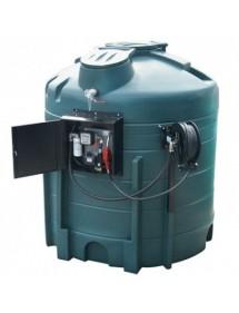 Station de distribution de gasoil complète en pehd de 5000 ou 6000L